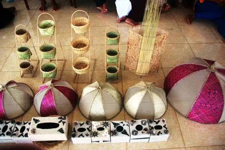 Some of the products made by GPOCP's NTFP artisans