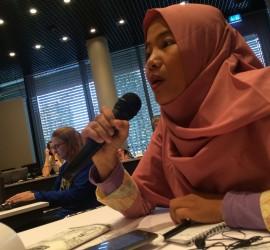 Mayi Speaking